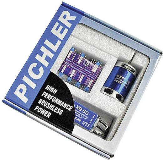 Pichler Boost 80 Combo Brushless Motor + Brushless Regler XQ-70 + Programmierkarte
