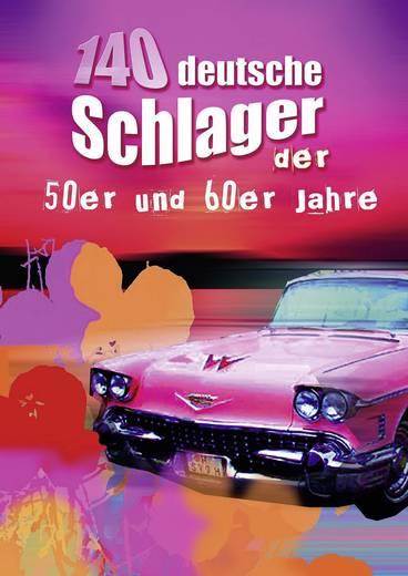 Songbuch 140 deutsche Schlager der 50er und 60er