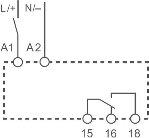 Zeitrelais Monofunktional 1 St. Finder 83.11.0.240.0000 Zeitbereich: 0.05 s (min) 1 Wechsler