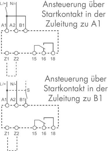 Zeitrelais Multifunktional 1 St. Finder 83.91.0.240.0000 Zeitbereich: 0.05 s (min) 1 Wechsler