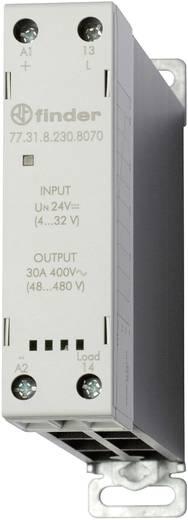 Halbleiterrelais 1 St. Finder 77.31.8.230.8070 Last-Strom (max.): 30 A Schaltspannung (max.): 480 V/AC Nullspannungsscha