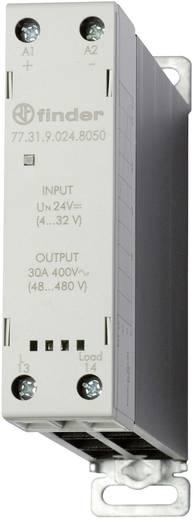 Halbleiterrelais 1 St. Finder 77.31.9.024.8050 Last-Strom (max.): 30 A Schaltspannung (max.): 480 V/AC Nullspannungsscha