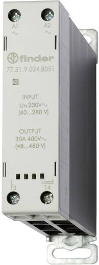 Halbleiterrelais 1 St. Finder 77.31.9.024.8051 Last-Strom (max.): 30 A Schaltspannung (max.): 480 V/AC Sofortschaltend