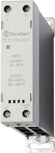 Halbleiterrelais 1 St. Finder 77.31.9.024.8070 Last-Strom (max.): 30 A Schaltspannung (max.): 480 V/AC Nullspannungsscha