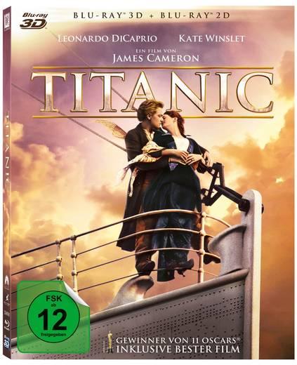 blu-ray Titanic 3D FSK: 12