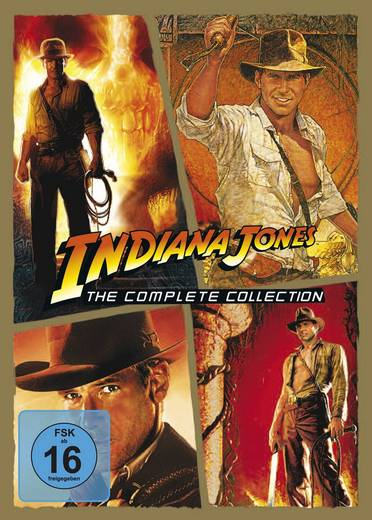 DVD Indiana Jones - The Complete Collection FSK: 16