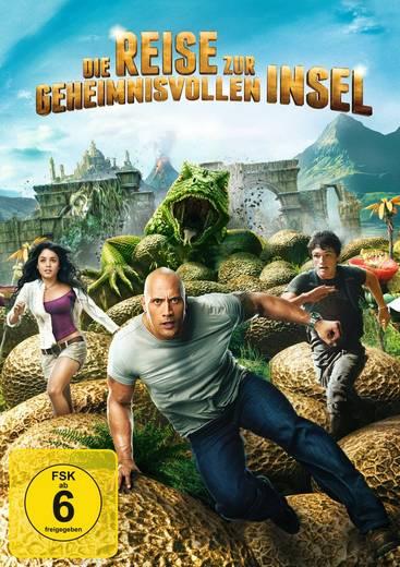 DVD Die Reise zur geheimnisvollen Insel FSK: 6