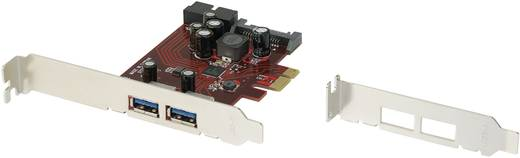 2+1 Port USB 3.0-Controllerkarte USB-A PCIe Renkforce