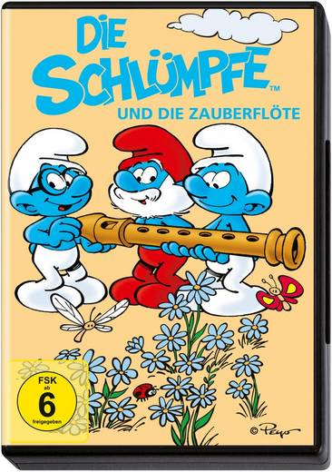 DVD Die Schlümpfe und die Zauberflöte FSK: 6