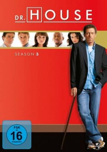 DVD Dr. House Season 3 FSK: 16