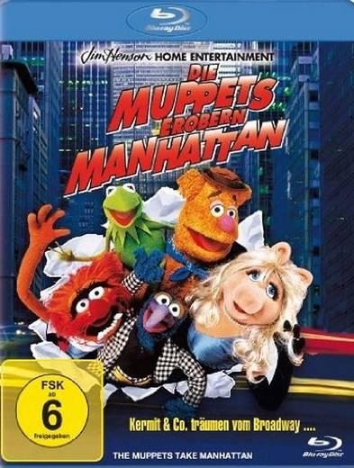 blu-ray Die Muppets erobern Manhattan FSK: 6