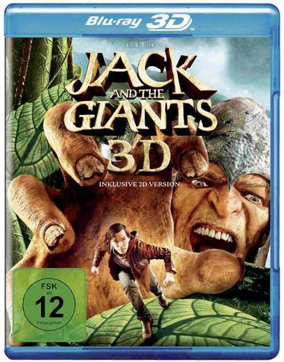 blu-ray 3D Jack and the Giants (2D Blu-ray) FSK: 12