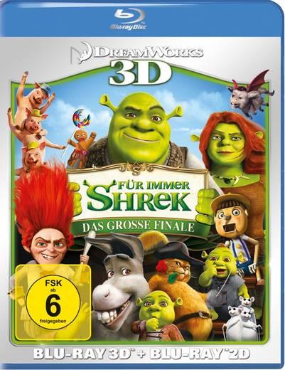 Shrek 4 - Für immer Shrek 3D + 2D