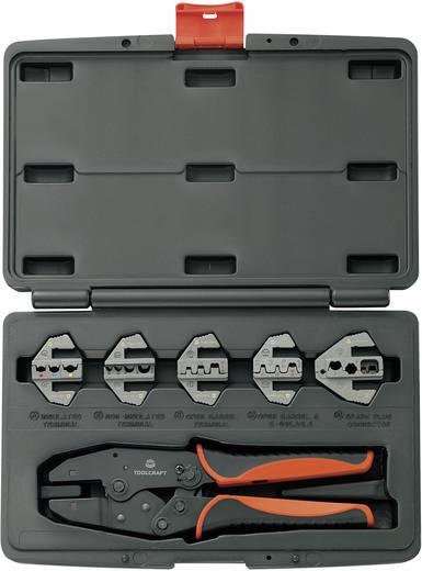 Crimpzangen-Set Special Edition 6teilig Isolierte Kabelschuhe, Unisolierte, geschlossene Kabelschuhe, Offene, unisoliert