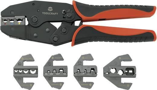 toolcraft 430461 crimpzangen set 6teilig isolierte. Black Bedroom Furniture Sets. Home Design Ideas