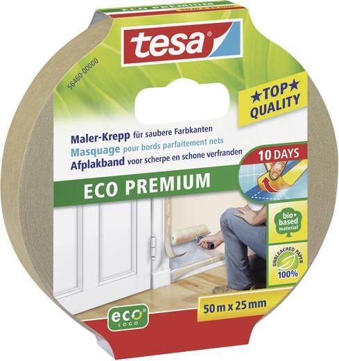 Kreppband tesa tesa® Eco Premium Braun (L x B) 50 m x 25 mm Kautschuk Inhalt: 1 Rolle(n)