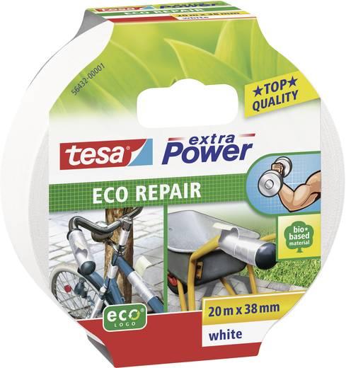 Gewebeklebeband tesa® Extra Power ECOLOGO Weiß (L x B) 20 m x 38 mm tesa 56432-01 1 Rolle(n)