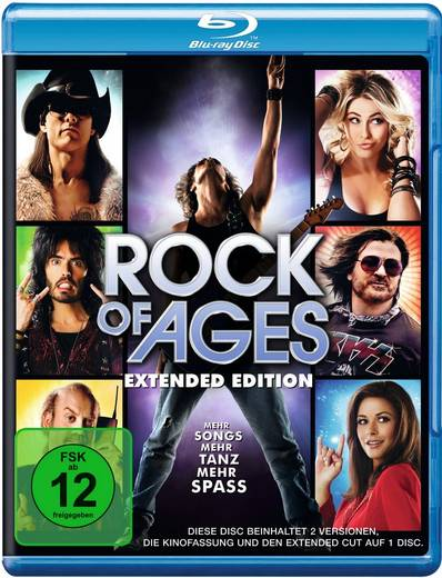 blu-ray Rock of Ages FSK: 12