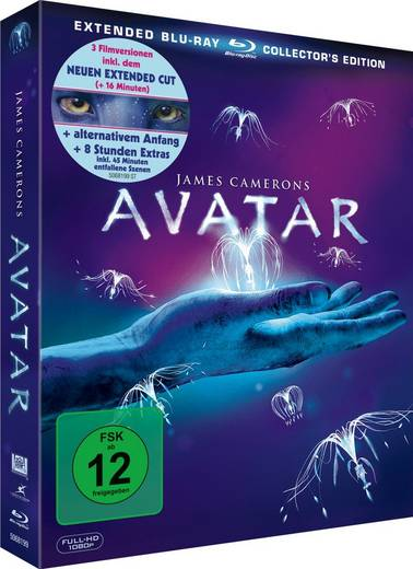 3er Box BD Avatar - Extended Collector's Edition FSK: 12