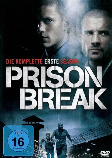 DVD Prison Break - Die komplette erste Season FSK: 16
