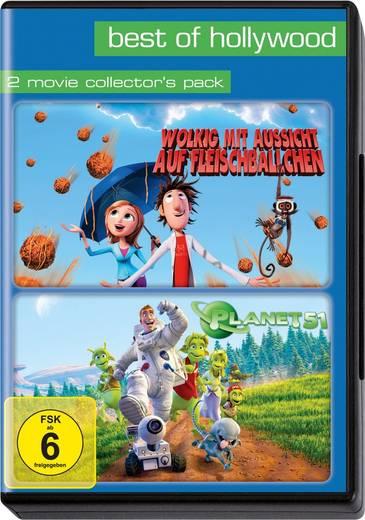 DVD Best of Hollywood: Wolkig mit Aussicht auf Fleischbällchen / Planet 51 FSK: 6