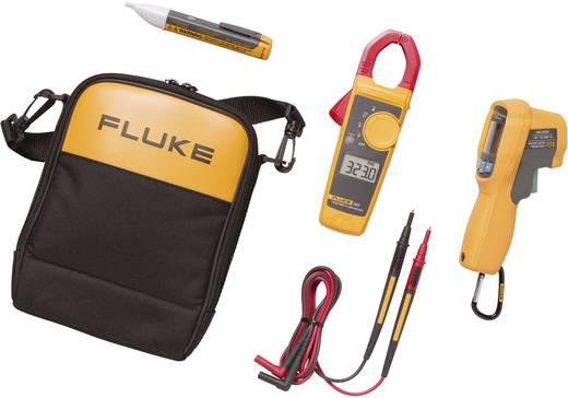 Stromzange, Hand-Multimeter digital Fluke FL62MAX+/3231AC Kalibriert nach: Werksstandard CAT III 600 V, CAT IV 300 V An