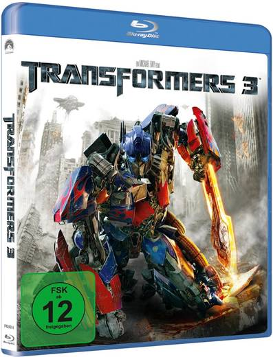 blu-ray Transformers 3 FSK: 12