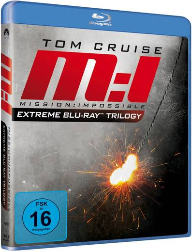 Mission: Impossible I-III - Extreme Trilogy
