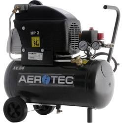 Piestový kompresor Aerotec 220-24FC 20088344, Objem tlak. nádoby 24 l