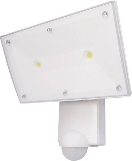 LED-Außenstrahler mit Bewegungsmelder 4.12 W Neutral-Weiß Grothe McGuard LED RL-300A 94555 Weiß