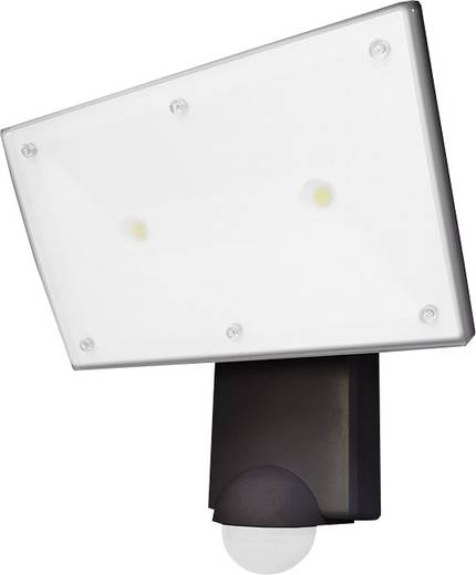 LED-Außenstrahler mit Bewegungsmelder 4.12 W Neutral-Weiß Grothe 94556 94556 Schwarz