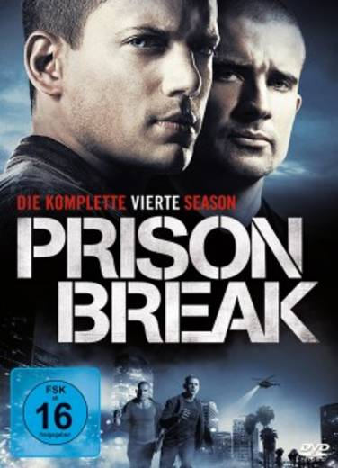 DVD Prison Break - Die komplette vierte Season FSK: 16