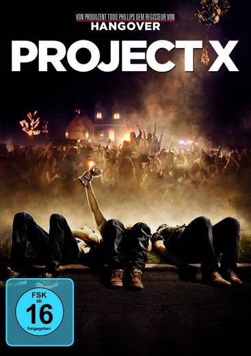 DVD Project X FSK: 16