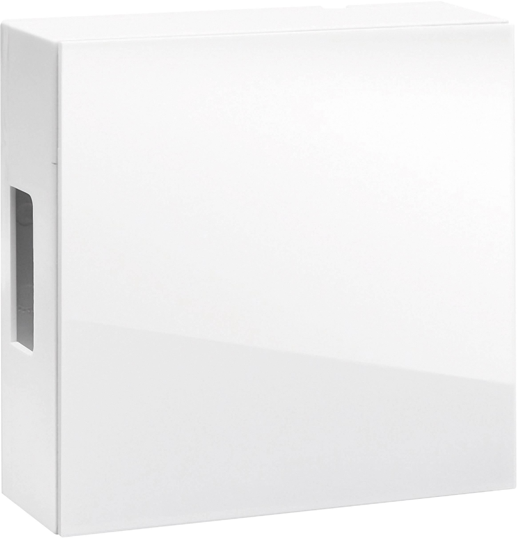 Silber Grothe 43150 Gong 8-12 V 83 dBA Weiß