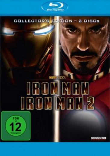 2er Box BD Iron Man / Iron Man 2 - Collector's Edition (Double-Softbox) FSK: 12