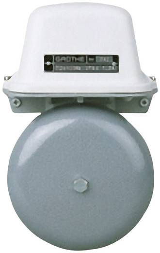 Klingel 24 V (max) 105 dBA Grothe 22513 Grau, Weiß