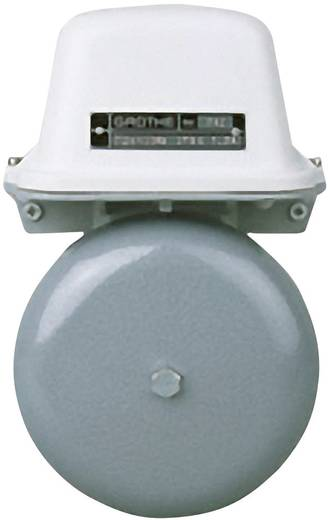 Grothe 22517 Klingel 230 V (max) 105 dBA Grau, Weiß