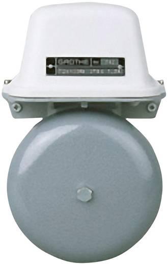 Klingel 12 V (max) 105 dBA Grothe 22540 Grau, Weiß
