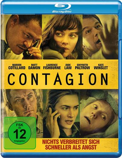 blu-ray Contagion FSK: 12