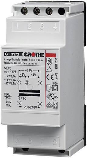 Klingel-Transformator 8 V/AC 1 A Grothe 14201