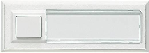 Klingeltaster mit Namensschild, beleuchtet 1fach Grothe 51015 Weiß 12 V/1,5 A