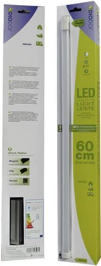 LED-Lichtleiste-Basisset 10 W Kalt-Weiß DioDor DIO-TL60-SP-FW Weiß