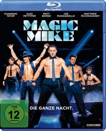 blu-ray Magic Mike FSK: 12