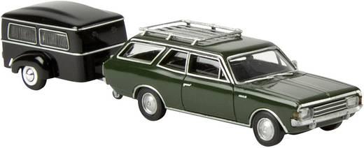 Brekina 92057 H0 Opel Rekord C CaraVan Bestattungsfahrzeug