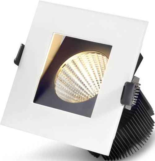 Sygonix Equi 12597R LED-Einbauleuchte 10.5 W Warm-Weiß Weiß
