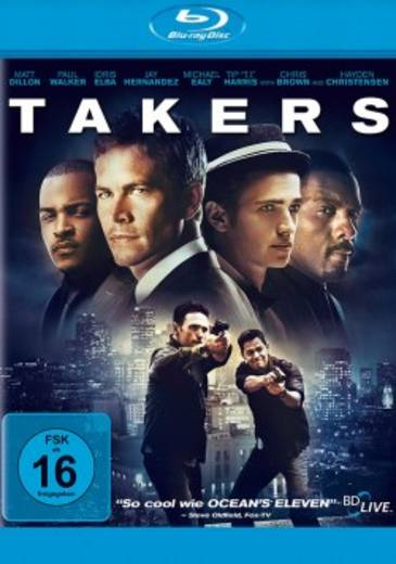 blu-ray Takers FSK: 16