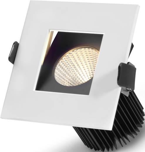 LED-Einbauleuchte 10 W Warm-Weiß Sygonix Egna 12557C Weiß