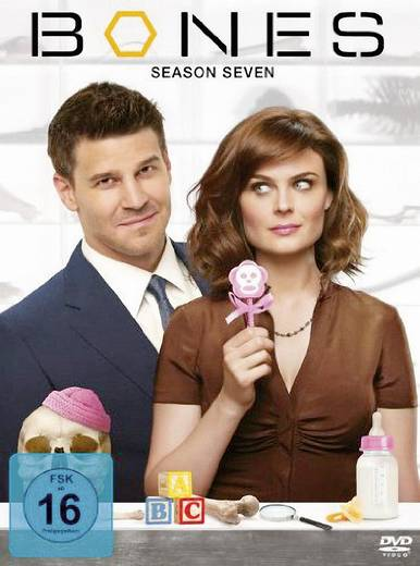 DVD Bones - Die Knochenjägerin - Staffel 7 (4 DVD´s) FSK: 16