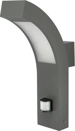 Venkovní nástěnné LED svítidlo Prebent 12535, teplá bílá, 4,2 W, antracit