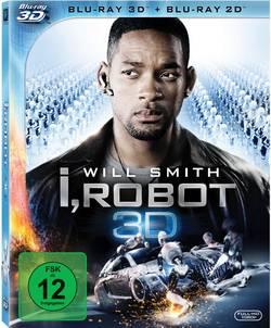 Image of blu-ray I,Robot 3D FSK: 12